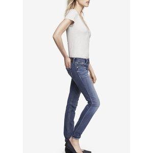 Express Jeans Stella Low Rise Skinny Pants